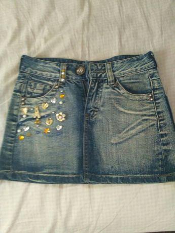 Мини юбка джинсовая, юбка.