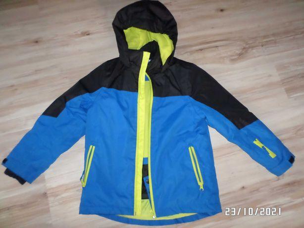 świetna kurteczka zimowa narciarska -chłopięca-122/128cm-Crane