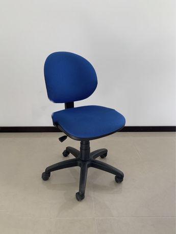 Diversas cadeiras de escritório giratórias