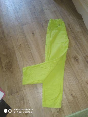Салатовые джинсы 116-122