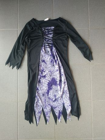 Новогодний маскарадный карнавальный костюм ведьма ведьмочка