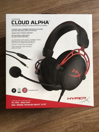 Наушники HyperX Cloud Alpha (НА ГАРАНТИИ)