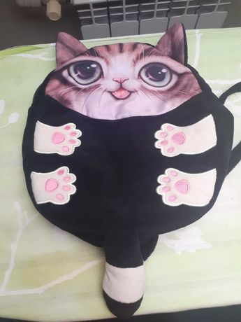 Plecak z kotkiem
