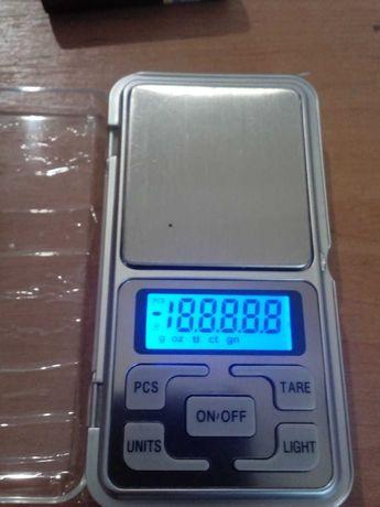Электронные весы на 400 точность 0.01 г