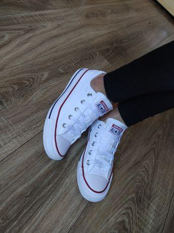 Converse białe trampki Converse niskie oryginały r.36