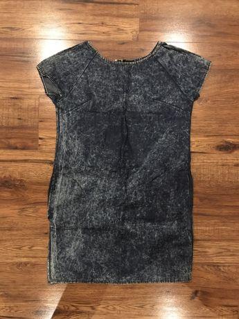 Sukienka ala jeansowa :)