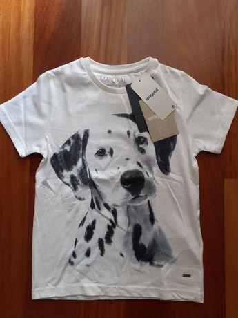 T-shirt NOVA DA Mayoral  tamanho 6