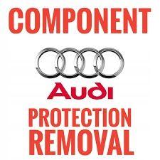 Audi - ochrona komponetu - Component protection