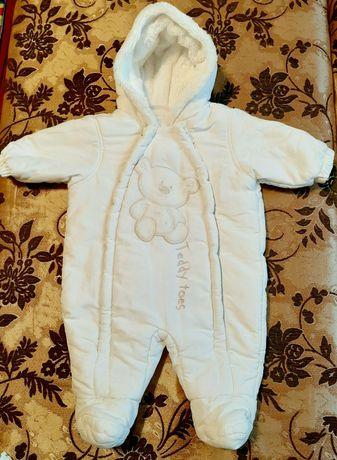 Комбінезон білосніжний Teddy Bear 0-3 місяців