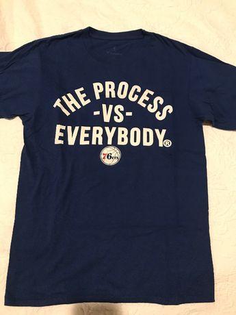 T-Shirt Philadelphia 76ers tamanho S