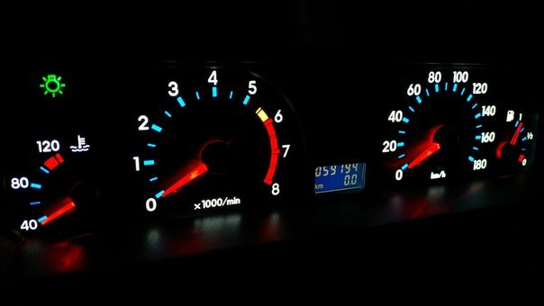 Таврия 1103 плата подсветки панель приборная щиток приборов пересвет