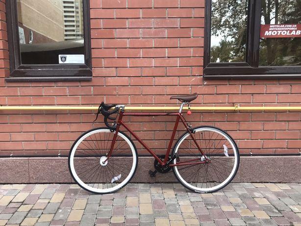 Fixed Gear Велосипед фикс хвз рекорд (флип-флоп) single speed
