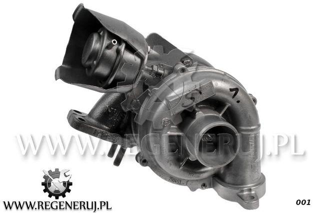 Turbosprężarka Peugeot 308 206 garrett 207 1.6 HDi 110 109KM 9HZ 9HY