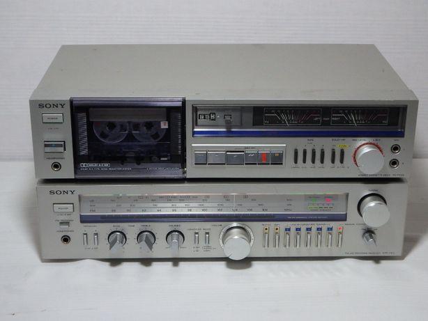 SONY amplituner STR-VX1L magnetofon TC-FX20 vintage