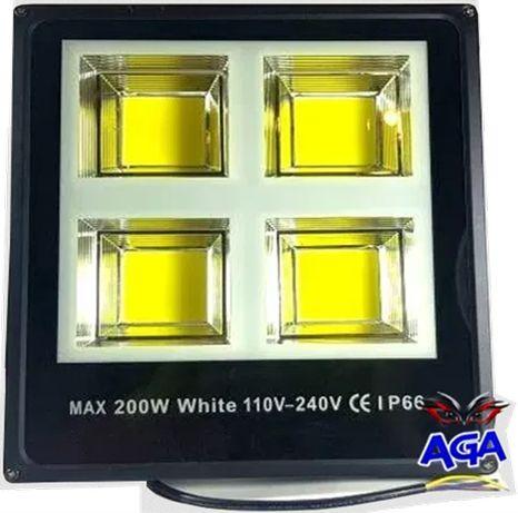 Halogen 200W LED 4COB 20000 LM Slim