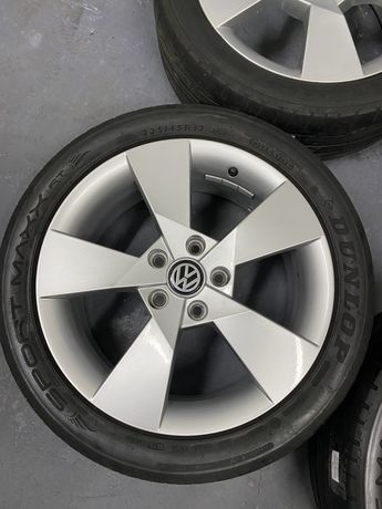 Оригинальные диски Volkswagen R17 (5x112)
