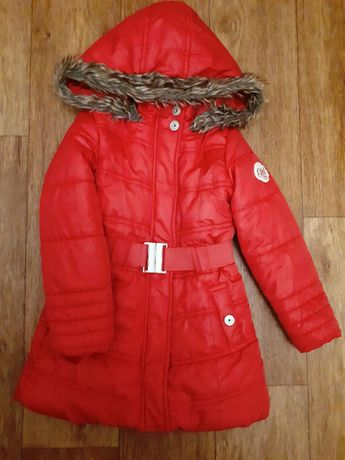 Удлиненная зимняя куртка (пальто) LC Waikiki на 4-6 лет