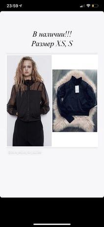 Бомбер куртка Zara XS S