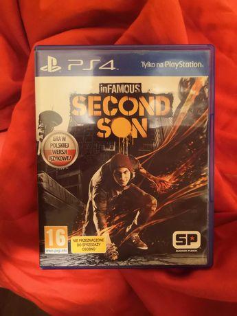 Gra PS4 inFAMOUS Second Son w pudełku