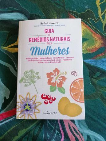"""Livro """" Guia de Remédios Naturais para Mulheres"""""""