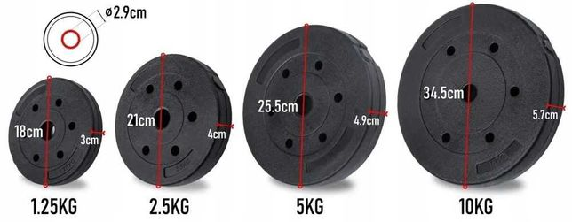 Obciążenie bitumiczne 2x10kg =20 kg