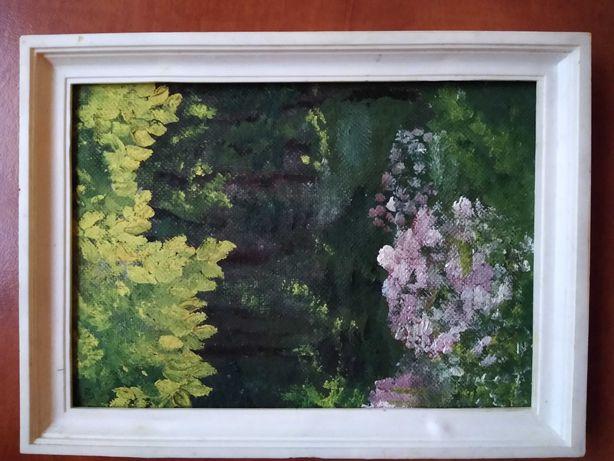 Obrazek ręcznie malowany