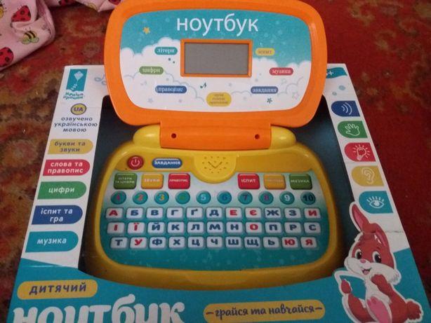 детский ноутбук.