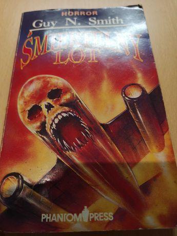 Książka,, Śmiertelny lot'' Guy N. Smith