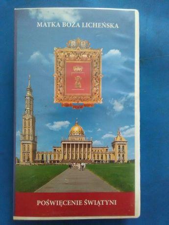 Kaseta VHS-Matka Boża Licheńska-Poświęcenie Świątyni(Super stan)