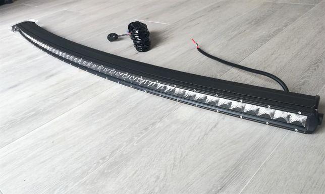 Barra LED's SLIM e CURVA - 240W - 130cm