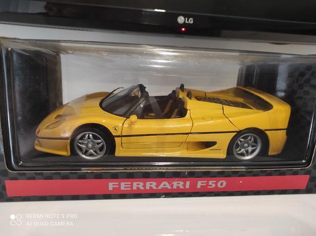 1:18 Ferrari F50 Spider cabrio colecao Shell