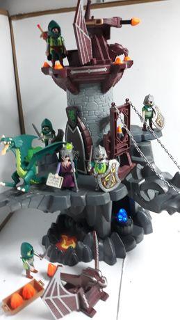 Playmobil wieża zielonego smoka