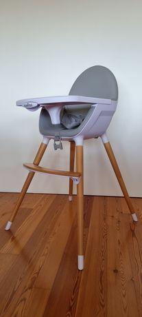 Cadeira de Refeição de Madeira Olmitos 6m+ [Como Nova]