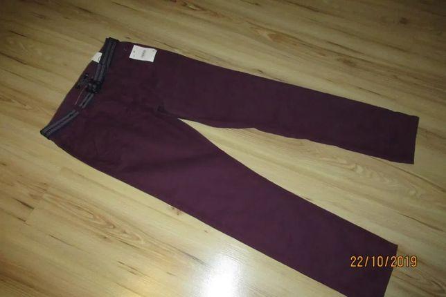Spodnie chłopięce chino 158 marka C&A Here and There - NOWE
