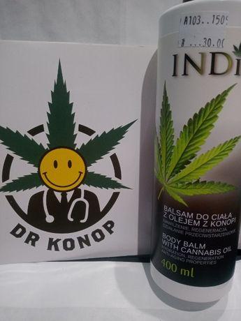 Balsam do ciała INDIA z olejem z konopi, sklep Dr Konop Cieszyn