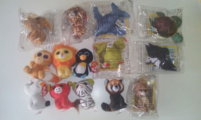 Boo Zoo Ty National geographic happy meal McDonald's