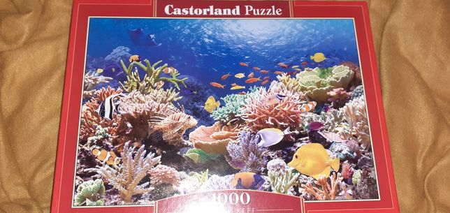 Puzzle 1000 elementów - rybki