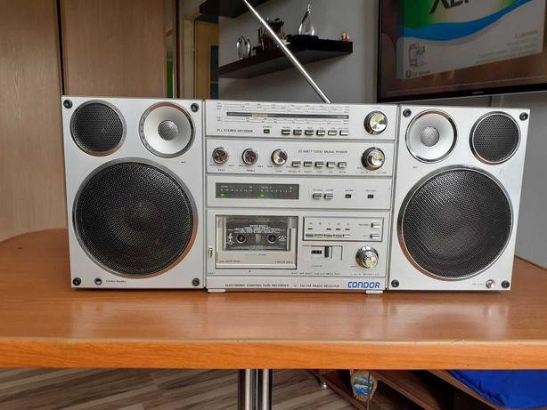 Unitra Condor RM 820 S Stan kolekcjonerski radiomagnetofon