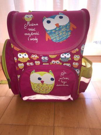 Plecak dla dziewczynki do szkoły