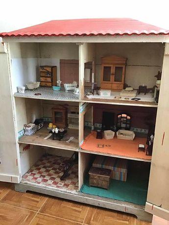 casinha de bonecas, vintage, armario, antiguidade, coleção, rústico