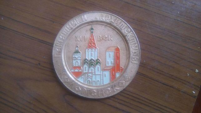 Медальон памятники архитектуры Коломенское