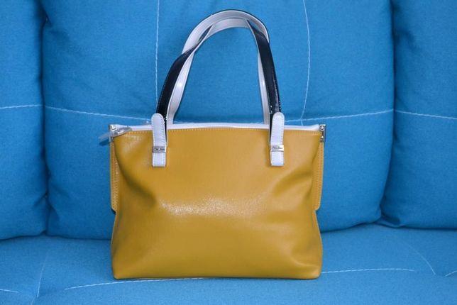 Cумка VITACCI жовта (НОВА), сумка жіноча