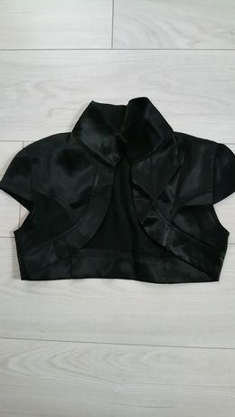 Bolerko czarne, rozmiar 36