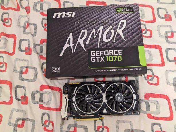 Видеокарта GTX 1070 MSI Armor