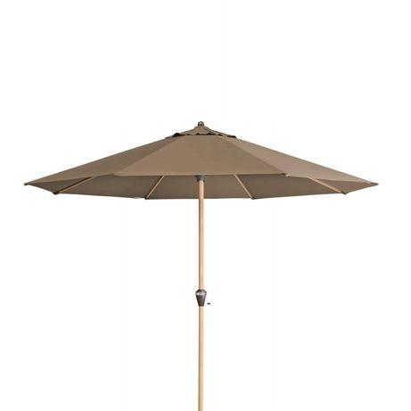 Parasol Doppler Alu Wood 350 cm