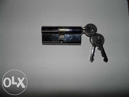 Canhão fechadura + 3 chaves jnf NOVO