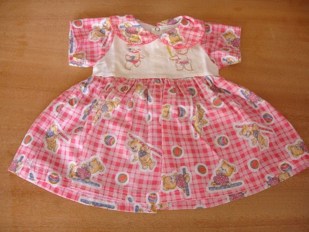 vestidos menina 6/9 meses