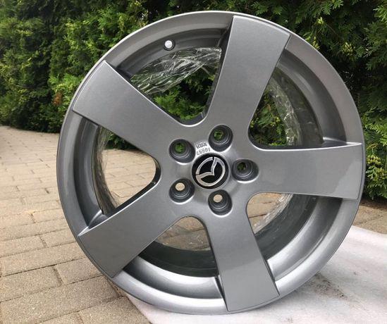 76# Alufelgi 5x114,3 r17 MAZDA JAK NOWE CX3 CX5 CX7 CX9 Mazda 5,6,62