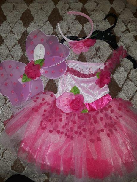 Карнавальный, новогодний,нарядный костюм Цветочной феи, эльфа,бабочки!