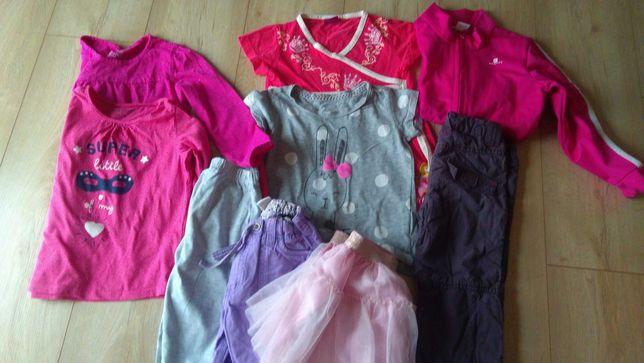 Ubrania dla dziewczynki rozmiar 98